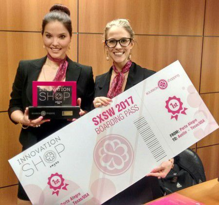 1º lugar no concurso Innovation Shop Award